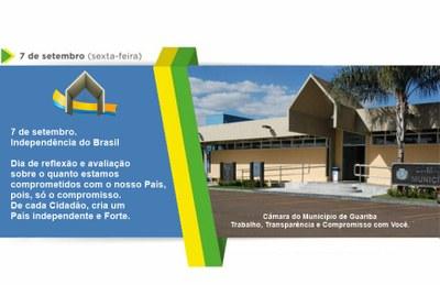 7 de setembro independência do Brasil