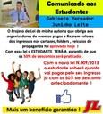 Câmara aprova Projeto de autoria do vereador Juninho Leite que obriga fixação de preços de meia entrada em cartazes e folders de festas no município