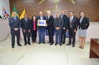Câmara concede Título de Cidadão Guaribense ao Deputado Federal Roberto Alves