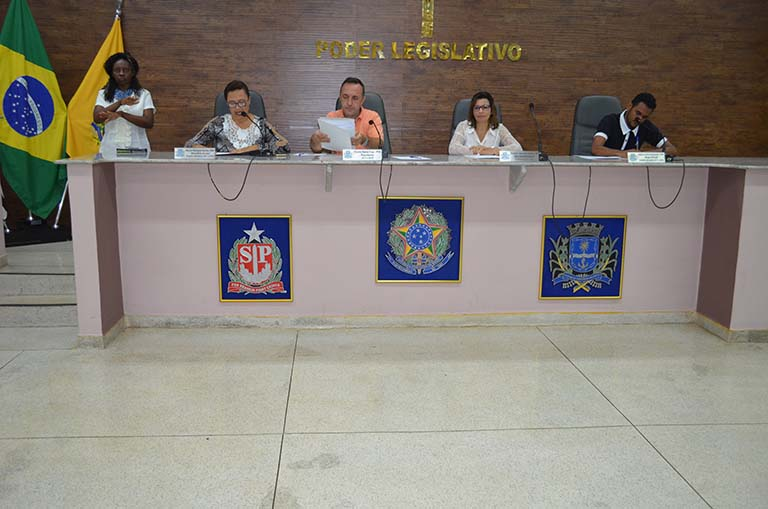 Câmara realiza 17ª. Sessão Ordinária