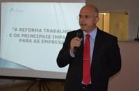 Câmara realiza palestra à comerciantes e empresário sobre as mudanças da Lei Trabalhista