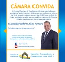 Entrega de Título de Cidadão Guaribense ao Deputado Federal Roberto Alves.