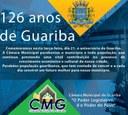 Parabéns Guariba 126 anos!