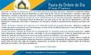 Pauta 31ª Sessão Ordinária