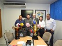 Prefeito Dr. Francisco e vereador Paulo de Sá visitam a Capital em busca de melhorias para Guariba