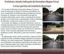 Prefeitura atende indicação da Vereadora Magna Fiscal e troca portões do Cemitério Municipal