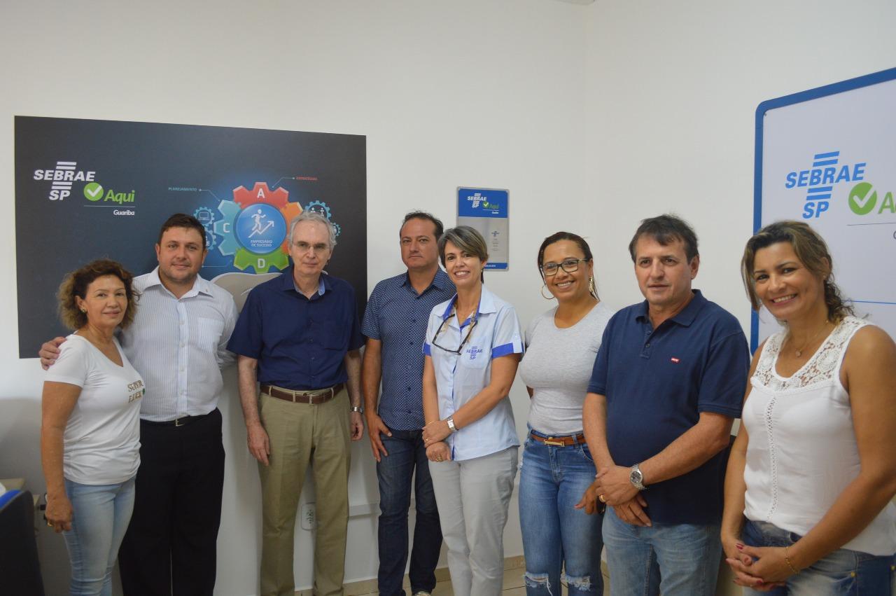 """Prefeitura inaugura unidade do """"SEBRAE Aqui"""" em Guariba"""