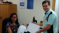 Vereador Juninho Leite vai à Bauru - SP reivindicar aos Correios que façam entregas de correspondências em bairros que não estão sendo atendidos.