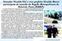 Vereador Nivaldo TLC e vice-prefeito Nivaldo Mazzi participam de reunião da Região Metropolitana de Ribeirão Preto (RMRP)