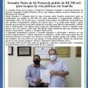 Vereador Paulo de Sá Protocola pedido de R$ 500 mil para recapes de vias públicas em Guariba
