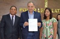 Vereador Paulo de Sá solicita ao Deputado Federal Roberto Alves Kit ao Conselho Tutelar de Guariba