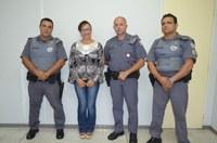 Vereadora Magna Fiscal faz reunião com representantes da PM e trata de assuntos sobre Segurança Pública em Guariba