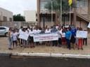 Vereadora Magna Fiscal participa de passeata de conscientização a doenças transmitidas por mosquitos