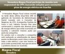 Vereadora Magna Fiscal participa de reunião com responsável da CPFL buscando soluções para constantes picos de energia elétrica em Guariba