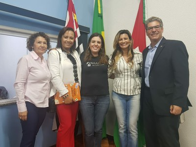 Vereadora Márcia Alves, Néia Guimarães e Magna Fiscal participam de encontro do Parlamento Metropolitano de RP