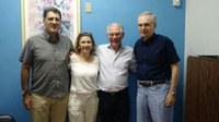 Vereadora Márcia Alves protocola pedido de R$ 120 Mil ao deputado estadual Vaz de Lima