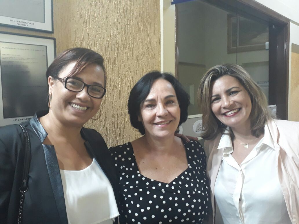 Vereadoras Magna Fiscal e Néia Guimarães participam de evento sobre combate à violência contra a mulher em Araraquara